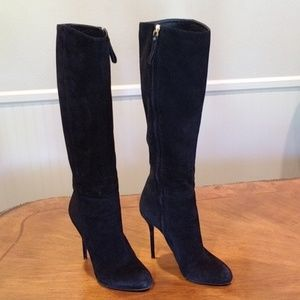 Suede Sergio Rossi boots